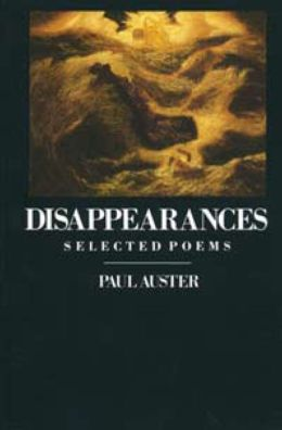 Disappearances: Selected Poems