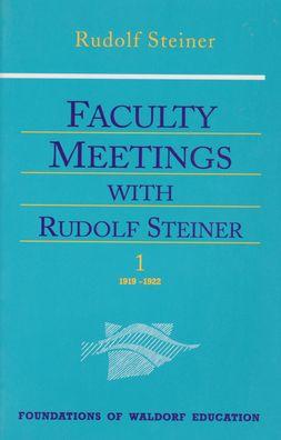 Faculty Meetgs with Rudolf Steiner (2 Vols)