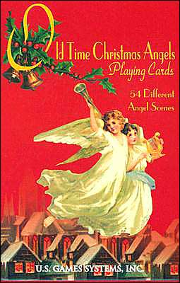 Old Time Christmas Angels Playing Cards