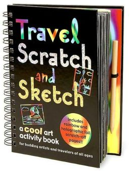 Travel Scratch and Sketch: Spiral Journal 5x8