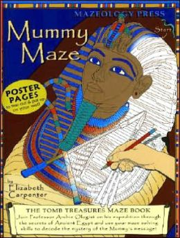 Mummymaze: Tomb Treasures Maze Book