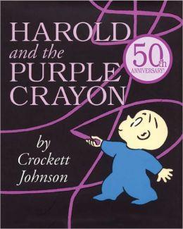 Harold And The Purple Crayon (Turtleback School & Library Binding Edition)