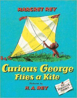 Curious George Flies a Kite (Turtleback School & Library Binding Edition)