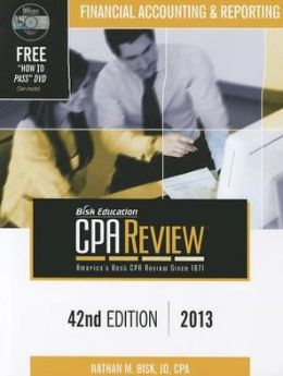 Bisk CPA Review, 42nd Edition, FAR Volume