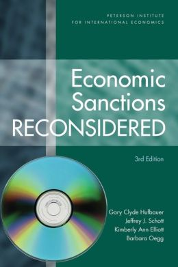 Economic Sanctions Reconsidered with CD-ROM