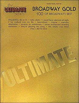 Broadway Gold - Piano/Vocal/Guitar