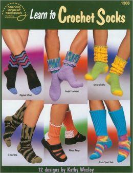 Learn to Crochet Socks