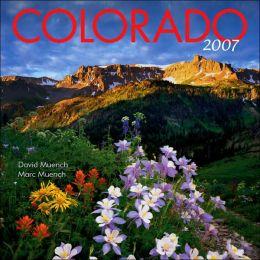 2007 Colorado Wall Calendar