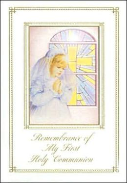 Remembrance of My First Holy Communion Girls