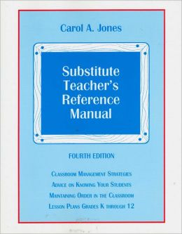 Substitute Teacher's Reference Manual