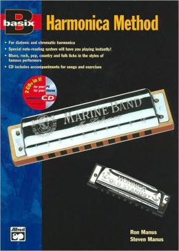 Basix Harmonica Method: Book & Enhanced CD