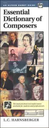 Essential Dictionary of Composers: Handy Guide