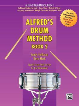 Alfred's Drum Method, Bk 2