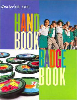 Junior Girl Scout Handbook and Badge Book Set