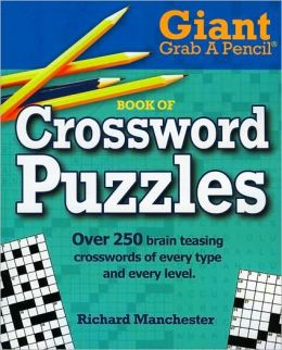 Giant Grab A Pencil Book of Crossword Puzzles
