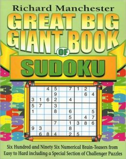 Great Big Giant Book of Sudoku