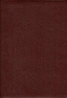 Thompson Chain-Reference Study Bible, Handy Size Edition: King James Version (KJV), burgundy bonded leather, gold-edged, thumb-indexed, words of Christ in red, with concordance