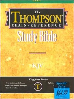Thompson Chain-Reference Study Bible: King James Version (KJV), royal purple bonded leather, indexed