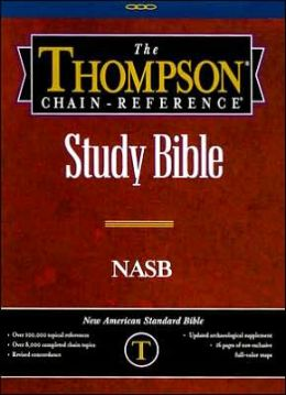 Thompson Chain Reference Study Bible: New American Standard Bible (NASB), Black Genuine Leather