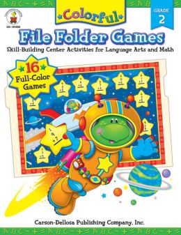 Colorful File Folder Games