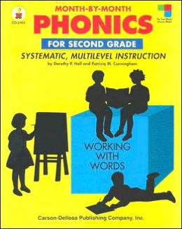 Month-by-Month Phonics for Second Grade