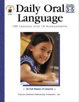 DAILY ORAL LANGUAGE GRADES 3/5