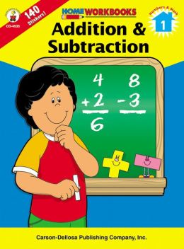 Addition and Subtraction, Grade 1 (Home Workbooks Series)