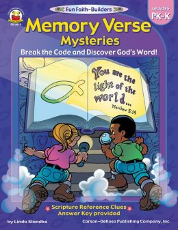Memory Verse Mysteries Pre-K: Break the Code and Discover God's Word