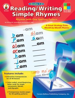 Reading/Writing Simple Rhymes: Rhymes with One Spelling Pattern