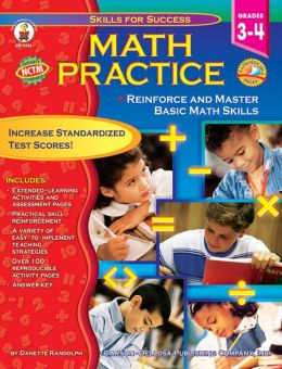 Math Practice (Grades 3-4): Reinforce and Master Basic Math Skills