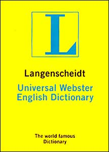 Langenscheidt Universal Dictionary Webster (Monolingual)