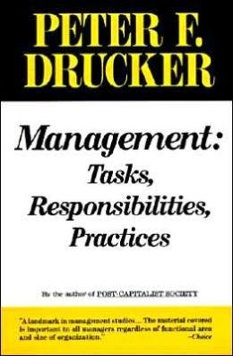 Management: Tasks, Responsibilities, Practices