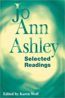 Jo Ann Ashley: Selected Readings