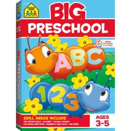 Big Preschool Workbook (Big Get Ready Books Series)
