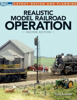 Realistic Model Railroad Operation
