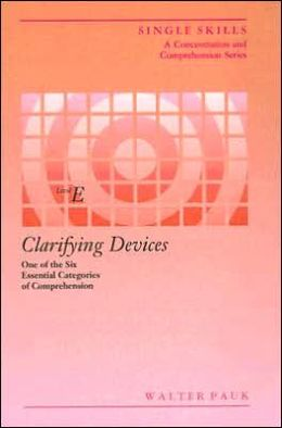 Clarifying Devices: Level E