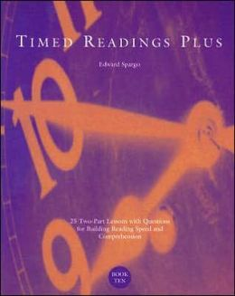 Timed Readings Plus, Book Ten, Level M