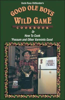 how to cook wild game cook book