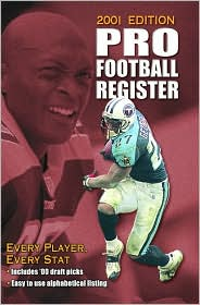 Pro Football Register, 2001 Edition