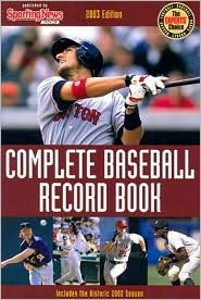 Complete Baseball Record Book