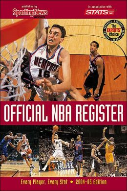 Official NBA Register: Every Player, Every Stat