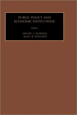 Public Policy and Economic Institutions
