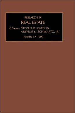 Res Real Estate Vol 3