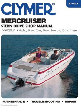 Mercruiser Stern Drive Shop Manual 1998-2004