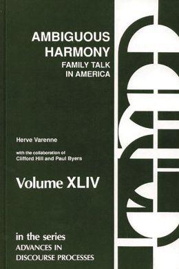 Ambiguous Harmony