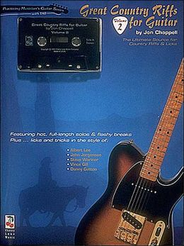 Great Country Riffs-vol.2 Book/cassette Pack - Guitar