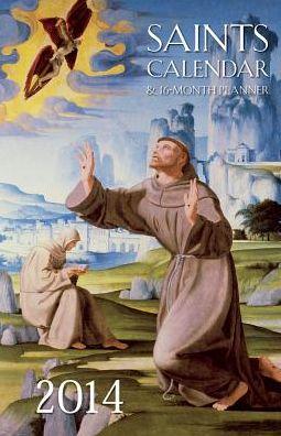 Saints Calendar & 16-Month Planner