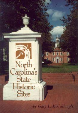 North Carolina's State Historic Sites