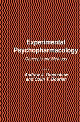 Experimental Psychopharmacology: Concepts and Methods
