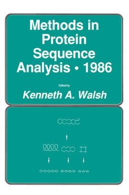 Methods in Protein Sequence Analysis - 1986